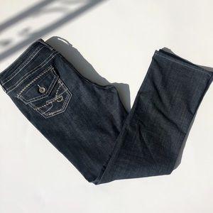 ANA Bootcut Embellished Pocket Dark Jeans 31/12